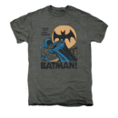 Men's Batman T-Shirt with Vintage Look Out Graphic