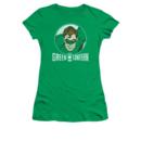 Women's Green Lantern T-shirt with Lantern Circle graphic