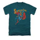 Men's Superman T-Shirt with Life Like Action Graphic