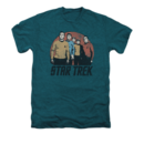 Men's Star Trek T-Shirt with Landing Party Vintage Graphic