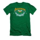 Men's Aquaman T-Shirt with Aqua-Splash Graphic