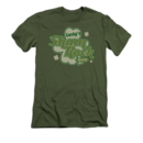 St. Patrick's Day T-Shirt with Lucky's Shamrock Cafe Graphic