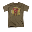 Men's The Flash T-Shirt with Vintage Flashy Graphic