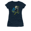 Women's Batgirl T-shirt with Night Person Graphic