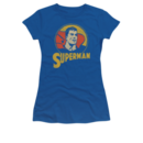 Women's Superhero T-shirt with Vintage Super Circle graphic