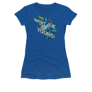 Women's Batgirl T-shirt with The Night Is Young graphic