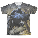 Men's Batman T-Shirt with In Shadow Graphic