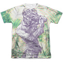 Men's The Joker T-Shirt with Mad Mad Swirl Graphic