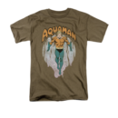 Men's Aquaman T-Shirt with From The Depths Graphic