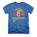 Superman T-Shirt with Vintage Super Circle Graphic