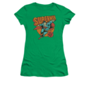 Women's Superman T-shirt with Job For Me graphic