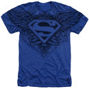 Men's Superman T-Shirt with Winged Logo