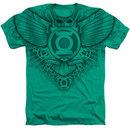 Men's Green Lantern T-Shirt with Winged Logo