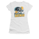 Women's Batman T-shirt with Vintage Night Off Graphic