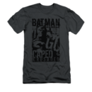 Men's Batman T-Shirt with Vintage Caped Crusader Graphic
