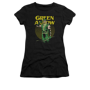 Women's Green Arrow T-shirt with Vintage Pull Out graphic