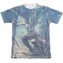 Men's Batman T-Shirt with Skyscrapers Graphic