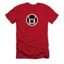 Men's Green Lantern T-Shirt with Vintage Red Lantern Graphic