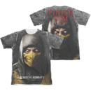 Women's Mortal Kombat X T-shirt with Finish Him graphic