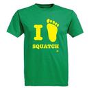 Ames Bros I <3 Squatch Graphic T-Shirt