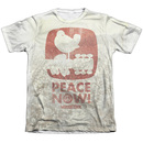 Men's Woodstock T-Shirt with Vintage Peace Now Graphic