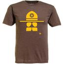 Ames Bros Copstache Graphic T-Shirt