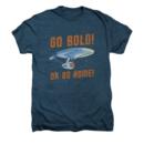 Men's Star Trek T-Shirt with Go Bold Vintage Graphic