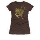 Women's Batgirl T-shirt with Flying Batgirl graphic