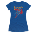 Women's Superman T-shirt with Super Punch graphic