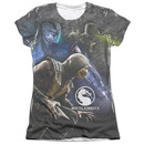 Women's Mortal Kombat X T-Shirt with Three Of A Kind Graphic