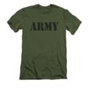 Men's US Army T-Shirt with Bold Army Logo