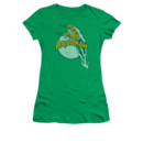 Women's Aquaman T-shirt with vintage Splash graphic