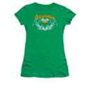Women's Aquaman T-shirt with vintage Aquaman Splash graphic