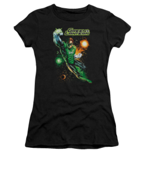 Women's Green Lantern T-shirt with Galactic Guardian graphic