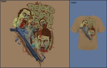 Jinx Reload Graphic T-Shirt