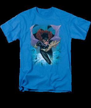Women's Batgril T-shirt with Batgirl #1 graphic