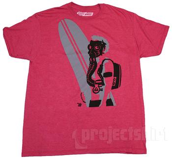 Ames Bros Black Tide Graphic T-Shirt