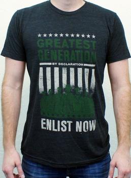 Declaration Clothing Greatest Generation Graphic T-Shirt