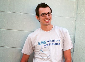 3.14% of Sailors are Pi-Rates T-shirt