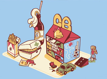 GB - Grand Theft Happy Meal t-shirt