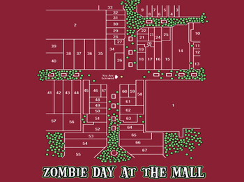 Zombie Day at the Mall Tee