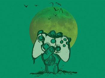 Undead Gamer t-shirt