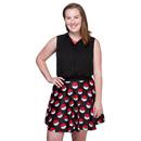 Poké Ball Print Skirt - Exclusive - Black