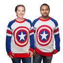 Captain America Shield Knit Sweater - Multi