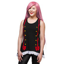 Seraph of the End Krul Ruffle Tank Top - Exclusive - Black