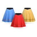 Star Trek TOS Uniform Skirt - Blue