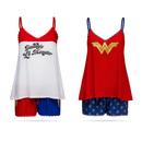 DC Comics Lace Tank and Shorts Sleep Set - Harley Quinn
