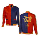Suicide Squad Harley Quinn Cosplay Replica Satin Bomber Jacket - Multi