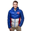 Captain America Down Jacket - Blue
