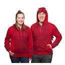 Fire Dragon Unisex Hoodie - Red